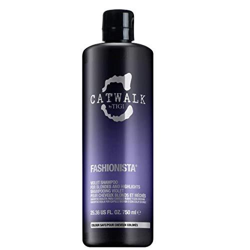 Tigi Bed Head Catwalk Fashionista Violet Shampoo, 750 ml