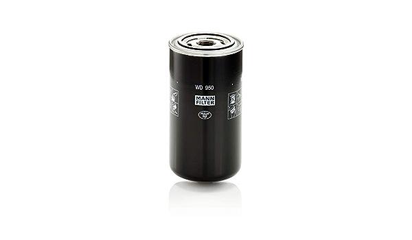 Original Mann Filter Hydraulikfilter Wd 950 Für Industrie Land Und Baumaschinen Auto