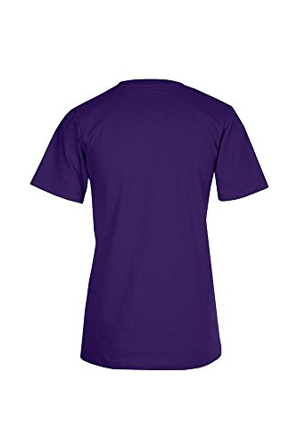 Bio T-Shirt Damen Dunkellila