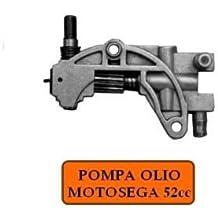 Bomba Aceite para Motosierra Repuesto para Motosierra 52 cc