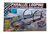 Battery Operated Road Racing Set Paralle...