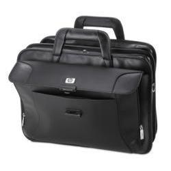 HP Executive Leather Case 17.3Zoll Aktenkoffer Schwarz - Notebooktaschen (Aktenkoffer, 43,9 cm (17.3 Zoll), Schultergurt, 2,7 kg, Schwarz) (Executive-aktenkoffer)