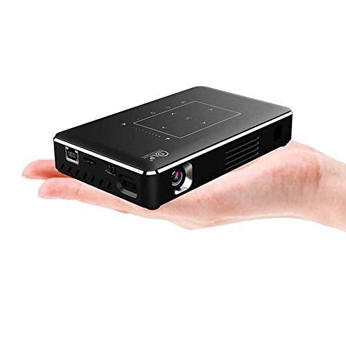 Mini-Projektor WiFi Micro 4000 Lumen drahtlose 3D-Heimkino Wand tragbare HD 4K Laser 1080p für Vorschlag Ehe und Heimkino -