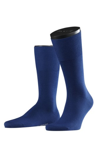 FALKE Herren Socken 14435 Airport Business SO, Blau (royal blue), Gr. 39/40 (Kids Bekleidung Blue Royal)