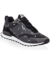 Pepe Jeans Zapatillas Run Sealing Yul Negro EU 40