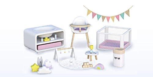 Mymy City - Set Muebles, habitación bebés niñas de 3 a 8...