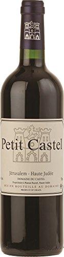 Domaine-du-Castel-Petit-Castel-Cabernet-Sauvignon-Merlot-Petit-Verdot-2014-75-cl-Kosher-Case-of-3