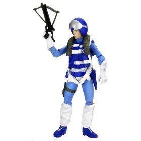 G.I. Joe, 25th Anniversary figura de acción, contador Inteligencia código nombre: Scarlett (traje de piloto), 3,75pulgadas