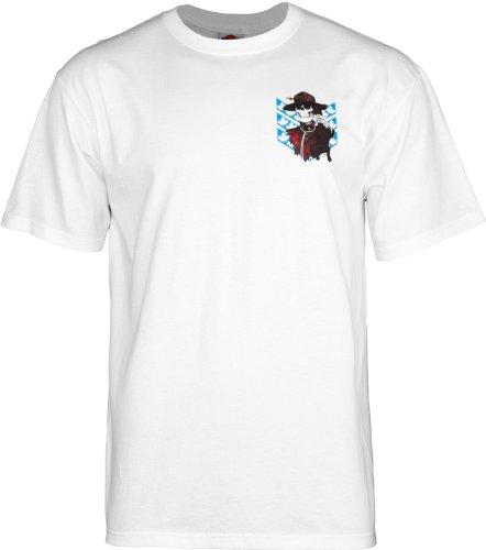 powell-peralta Harris Trittstufe T-Shirt weiß