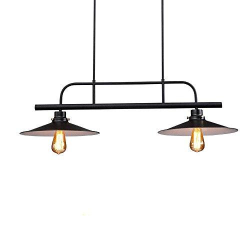 GNEW Vintage personalità creative industrial stile loft a tre pot lampadario sagomato , black dritto con 5 WLED *272