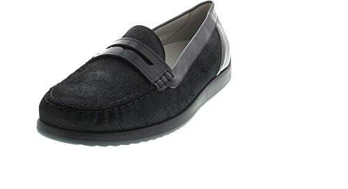 Waldläufer , Sneakers Basses mixte adulte Noir