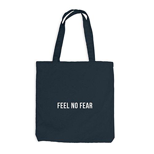 Jutebeutel - Feel No Fear - Style Design Dunkelgrau