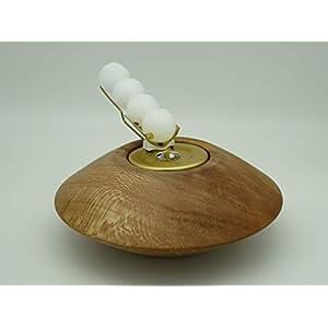 Kerzenhalter Kerze Wachskugeln Platane Holz Edelholz Teelichthalter