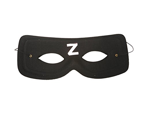 viving Kostüme viving costumes201629 Zorro Maske (One Size)