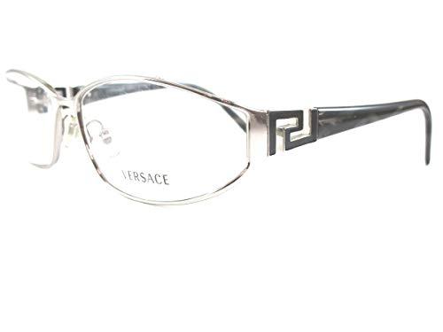 VERSACE Damen Brillengestell silber silber