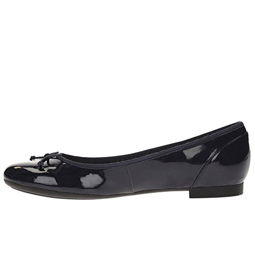 Clarks Couture Bloom, Ballerine Donna, Nero, Various Navy