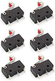 Invento 6pcs Micro Switch Mechanical End Stop For Reprap 3D Printer/CNC/DIY Project
