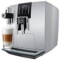 Jura 15111 J6 Bean-To-Cup Coffee Machine - Brilliant Silver