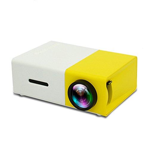 CN LED Proyector Portátil 500LM 320X240 USB Mini Proyector Home Media Player (XY-300) XUYAN