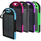 Best Solar Charger Androids - Solar Charger, Powercam, 10,000 mAh, Waterproof, Drop Resistant Review