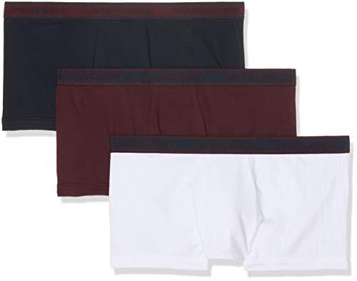 Emporio Armani Underwear Herren 111357 Shorts, Mehrfarbig (Marine/Mosto/Bianco 54835), Small