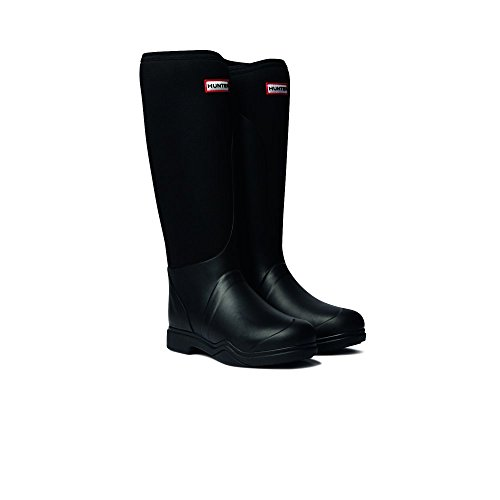 Hunter Balmoral Ladies Equestrian Neoprene Stretch Boots Black