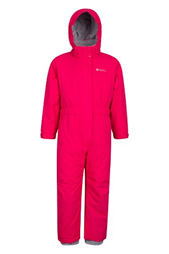 Mountain Warehouse Combinaison de Neige Enfants Cloud - Imperméable, Coutures thermosoudées,...