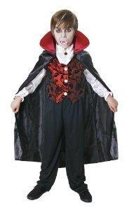 Deluxe-Vampire d'Halloween pour enfant 10-12 (Kostüm Pour Vampir De Halloween)