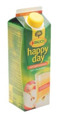 Happy Day Apfelsaft naturtrüb 1l - 12 x 1l