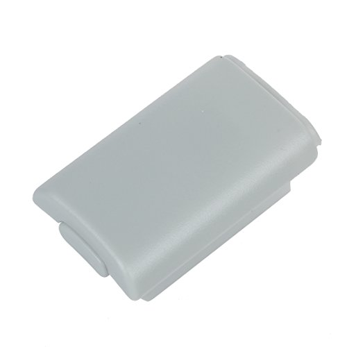 SODIAL (R) Sostituzione Vano porta batteria Bianco per XBOX microsoft 360 Wireless Controller di gioco Gamepad