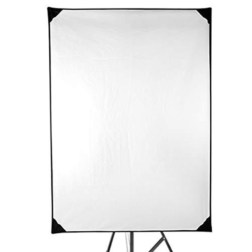 EVERAIE 4-in-1 Metall Flag Panel Set Gold Silber Schwarz Weiß Flat Panel Lichtreflektor mit 360 Grad drehbarer Halteklammer und Tragetasche, 150x200CM Faltreflektoren Set Reflektor Flat-panel-kit