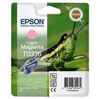 Epson T0336 Cartouche d'encre d'origine 1 x magenta clair 440 pages