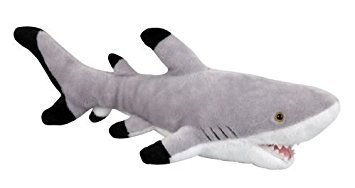 Plush GREAT WHITE SHARK Soft Toy - 42cm by Ravensden