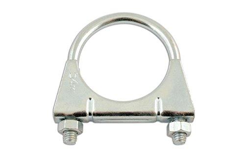 Motamec 20/mm Huile combustible Colliers de serrage dextr/émit/é de finition en alliage de jubil/é de t/ête hexagonale Noir