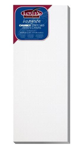 Loxley ACC-208 - Lienzo preestirado, Color Blanco