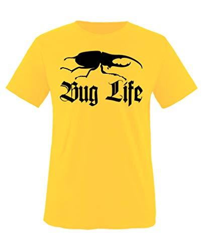 Comedy Shirts - Bug Life - Mädchen T-Shirt - Gelb/Schwarz Gr. 134-146 - Bug Gelben T-shirt