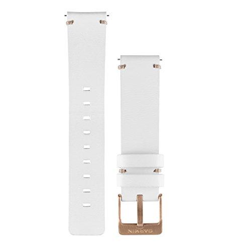 Garmin 010-12495-03 Ersatzarmband Leder für Vivomove Weiß