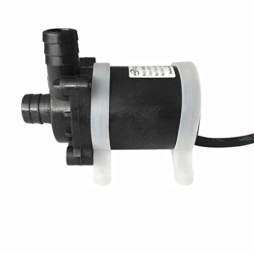Junecat DC 12V 24W / 48W-Ultra-Ruhiger Garten-Brunnen Tauchwasserpumpe Brushless Circulation Brunnen Aquarium Pump