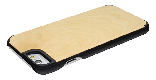 """SunSmart Housses classique en bois iPhone 6 Plus Housse en bois naturel de protection pour iPhone Plus 5.5""""-26 37"""
