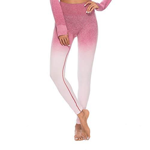 ng Tie Dye Print Leggings Fitness Sport Gym Yoga athletische Hosen (Rosa1, XL) ()