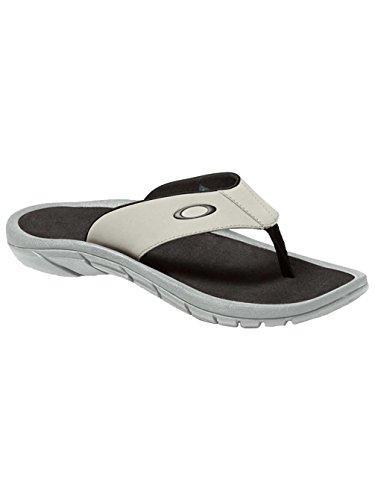 Oakley Herren Super-Coil Sandale 2.0 - Stone Grau - UK 5