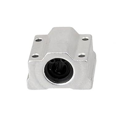 Sharplace SCS8UU Linearlager Linearwagen Linearschlitten Halterung 8 mm Welle für 3D-Drucker CNC