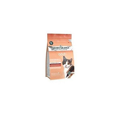 Arden Grange Adult Cat Food mit Lachs (4kg) (Pack von 2)