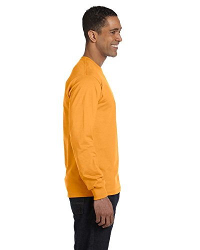 The Elevators auf American Apparel Fine Jersey Shirt Gold - Gold