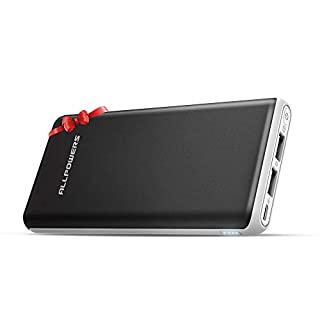 ALLPOWERS 22000mAh Power Bank Portable Charger External Battery with 2-USB 2.4A Output and 2A Input, iPower Tech for Mobile Phones, iPhone, iPad, Samsung, Tablet, Cell Phone