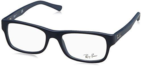 Rayban Unisex-Erwachsene Brillengestell RX5268, Blau (Sand Blue), 50