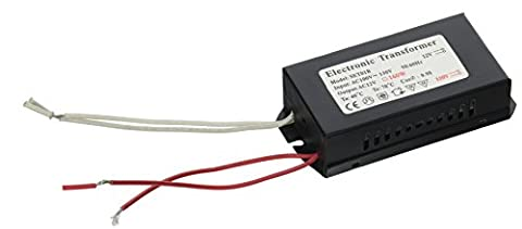 240V Halogen Spot Lamp High Quality Power Supply Low Voltage Compact Transformer Easy DIY for MR16 AC DC Low Volt Bulb Driver Indoor Electrical Transformer for Household Lightings Fixtures,
