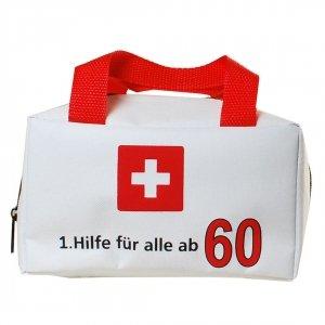 """Tasche """"1. Hilfe für alle ab 60"""" ungefüllt"""
