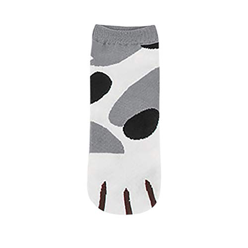 Preisvergleich Produktbild cinnamou Mode Socken, Sneaker Socken Winter-Frauen-Beliebte süße Kitty Cat Paws Socken der Frauen mit Paw Prints auf Zehen-Warmer Herbst und Winter,  das Geschenk für Familien
