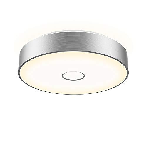 Onforu 18W LED Deckenleuchte 1600lm | 2700K Warmweiß LED Deckenlampe mit Aluminiumrahmen Ø28cm | IP65 Wasserdicht | Ersetzt 180W Glühbirne | Ideal für Wohnzimmer, Küche, Badezimmer, Balkon etc.